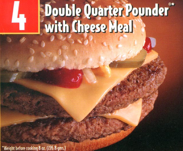 Value Meals -Quarter Pounder Meal